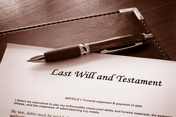 A Will is an Essential Part of Your Estate Plan